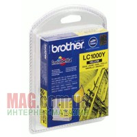 Купить КАРТРИДЖ BROTHER LC1000Y 400 СТР. ДЛЯ DCP-130CR/330CR + MFC240C/5460CN YELLOW в Одессе