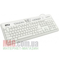 Клавиатура Genius SlimStar 310 PS/2+USB White CB