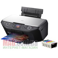 МФУ А4 EPSON Stylus Photo RX610, Фотопринтер, сканер, копир, CardReader, USB/PictBridge