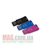 Флешка 8 Гб KINGSTON DataTraveler Mini Slim, I-Stick, чёрный