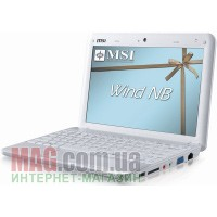 "Нетбук 10"" MSI WindPC U100 White, Atom N270 1.6 ГГц / 1024 Мб / 160 Гб / XP Home"