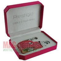 Флешка 8 Гб PRESTIGIO Leather Flash Drive
