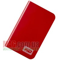 Внешний накопитель 400 Гб WD My Passport Essential WDMER4000TE, USB, Red