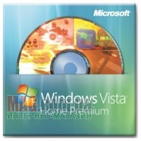 Microsoft Windows Vista Home Premium, 32-Bit, OEM, русский, DVD