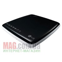 Внешний привод DVD±R/RW LG GP08-LU10 Black Slim USB