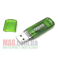 Флешка 4 Гб Transcend JetFlash V35 Green