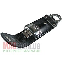 Флешка 4 Гб PRESTIGIO Leather Black