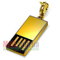Флешка 4 Гб Super Talent Pico-C Gold Limited Edition