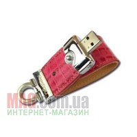 Флешка 4 Гб PRESTIGIO Leather Pink
