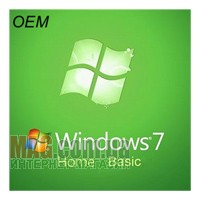 Microsoft Windows 7 HOME BASIC 32-bit OEM Русская версия