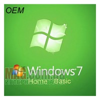 Microsoft Windows 7 HOME BASIC, 64-bit, OEM