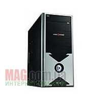 Корпус Logicpower 8802BS Black/Silver ATX Midi Tower