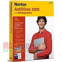 Антивирус Norton Antivirus 2008 Basic Russian