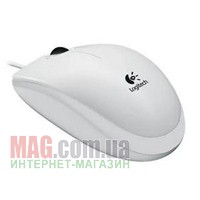 Мышь Logitech B110 Mouse USB 3B Optical White