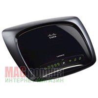 Беспроводной ADSL маршрутизатор LinkSys WAG320N Dual-Band Wireless-N ADSL2+ Gigabit Router
