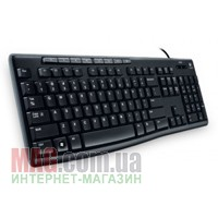 Клавиатура Logitech Media Keyboard K200 Black