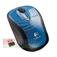 Мышь беспроводная Logitech Wireless Mouse M305 Swirl Blue USB