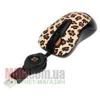 Купить МЫШЬ A4-TECH G-CUBE GOL-60B LEOPARD RETRACTABLE в Одессе