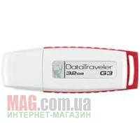 Флешка 32 Гб Kingston Generation3 White/Red