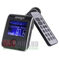 Купить FM TRANSMITTER CAR MP3 USB + SD MCC WITH REMOTE BLACK ROTATED (CUFM24GRX SILVER) в Одессе