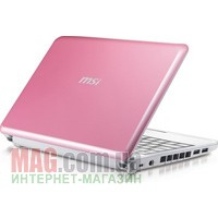 "Нетбук 10"" Netbook MSI WindPC U100 Pink"